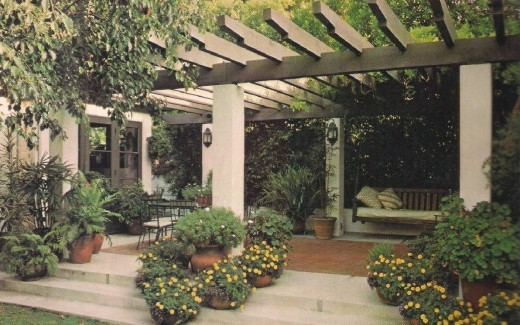 Lath Patio Overhead & Patio Canopies Overheads and Roofs | HubPages
