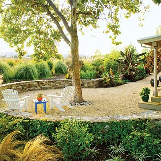 Loose Gravel Patio Flooring