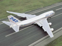 The huge jumbo jet of which there are thousands burns irreplaceable fossil fuels at a prodigious rate.
