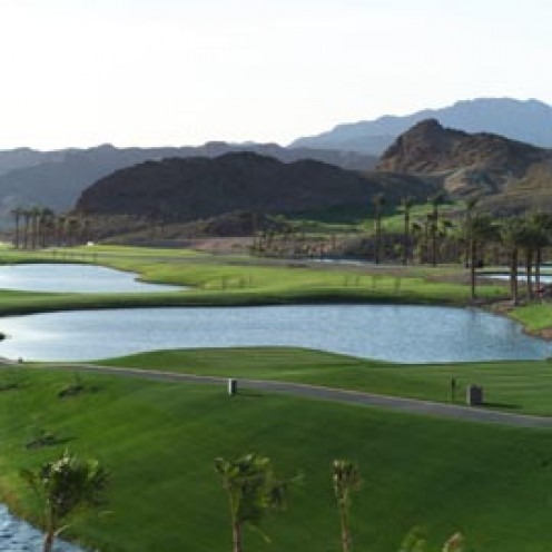 Water hungry golf course in the desert is NOT sustainable.