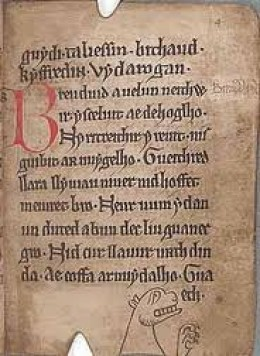 The Black Book. Handwritten around 1250