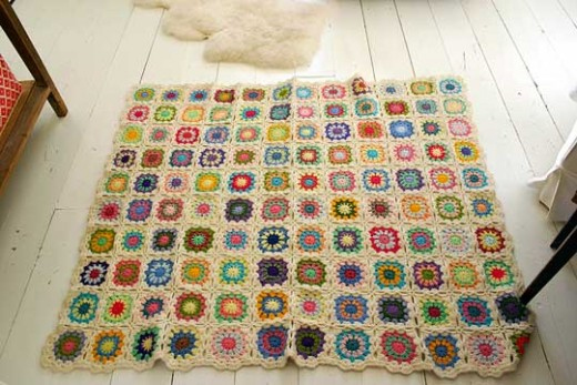 A crochet blanket for Project Linus (see below for more information on this charity)