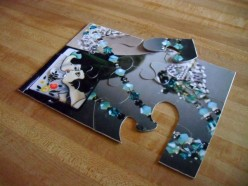 Recycle To Make A Jig Saw Puzzle