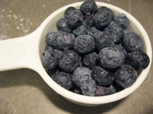 These blueberries may look old and sad, but they will be perfect for baking.