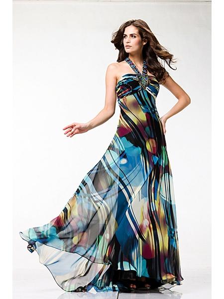 Evening Halter dress from International Fashion Boutique