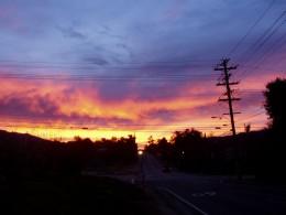 Believe it or not, sunrise