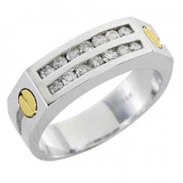 MENS CARTIER DIAMOND RING