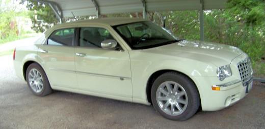 My Chrysler 300C Hemi car!