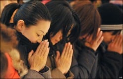 Prayer is the answer.