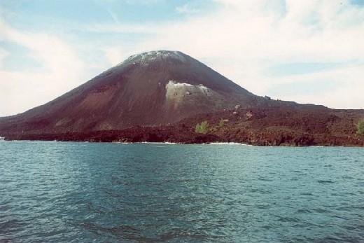 Krakatoa Volcano Today