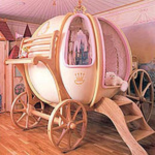 Fantasy Coach Cinderella Bed