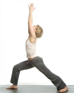 Warrior 1, Virabhadrasana 1