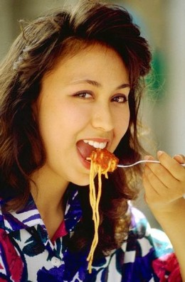 """""""I do a little better with spaghetti."""""""