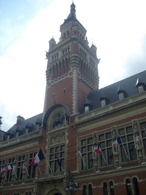 City Hall of Dunkirk