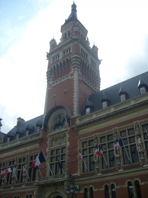 City Hall of Dunkirk