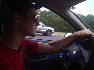 In a car - Look straight ahead, specially when you're driving - Motion sickness: What to do, photo  by starshleyy, source Photobucket