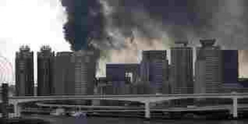 Tokyo Quake.  Some fires but little damage