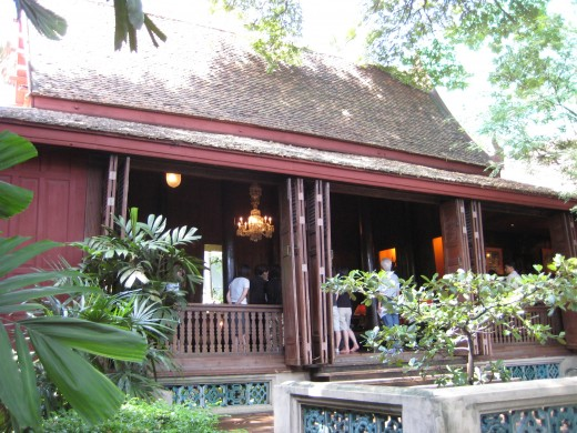 Back of Jim Thompson House