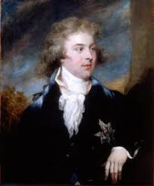 George IV as Prince of Wales.