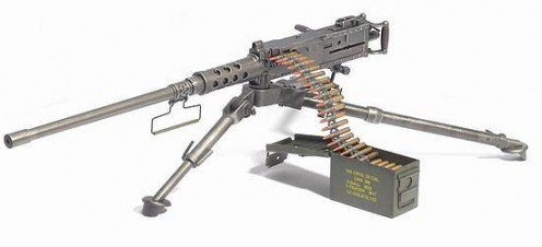 Browning 50 Calibre Machine Gun
