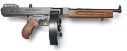 WW2 Thompson sub-machine gun.