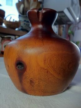 Mahogany Vase