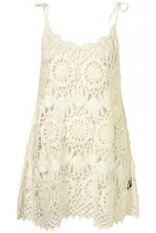 Spring 2011 Topshop crochet swing dress