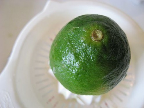 Limes are mellower and less tart than lemons.