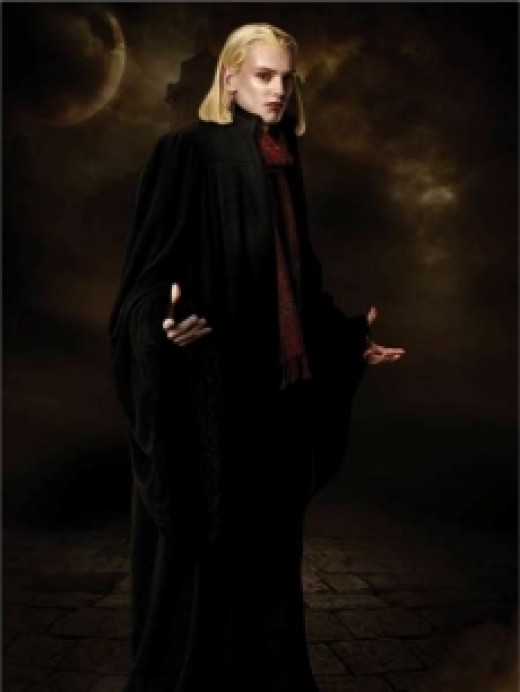 As Caius in the The Twilight series