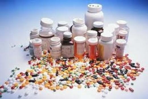A few prescription pills for some