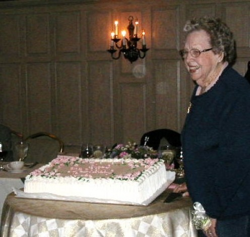 Young at Heart!  My Aunt Ruth's 90th Birthday.