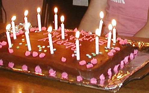 My Granddaughter's 12th Birthday ~ At that age they only want to get older!