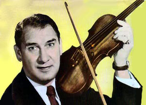 "Henry ""Henny"" Youngman,   (March 16, 1906- February 24, 1998) The ""King of the One Liners"" was a comedian and violinist."