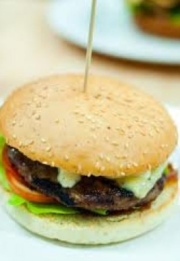 An Urban Burger with a GLUTEN FREE bun