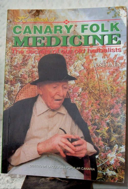 Handbook of Canary Folk Medicine by Jose Jaen book cover