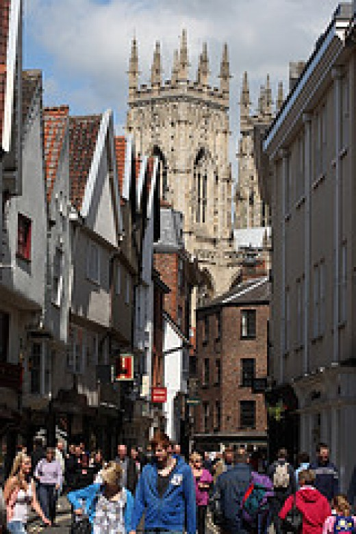 Today York still bustles with same activity as it has for hundreds of years.