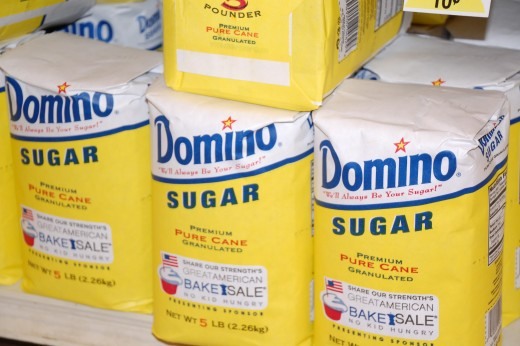 Today, an average American consumes 2-3 pounds of sugar each week.