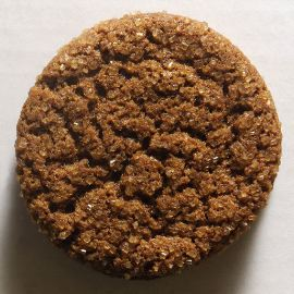 the brown sugar must hold its shape when the measuring cup is inverted and the sugar is slid into a flat surface.
