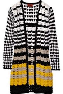 Missoni crocheted wool cardigan