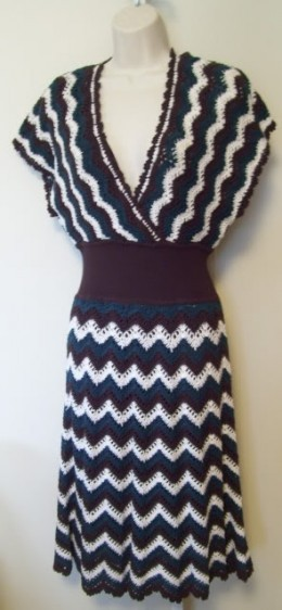 BCBG crochet dress
