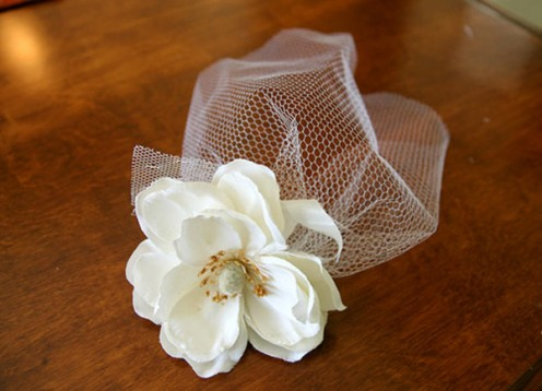 another great diy birdcage veil