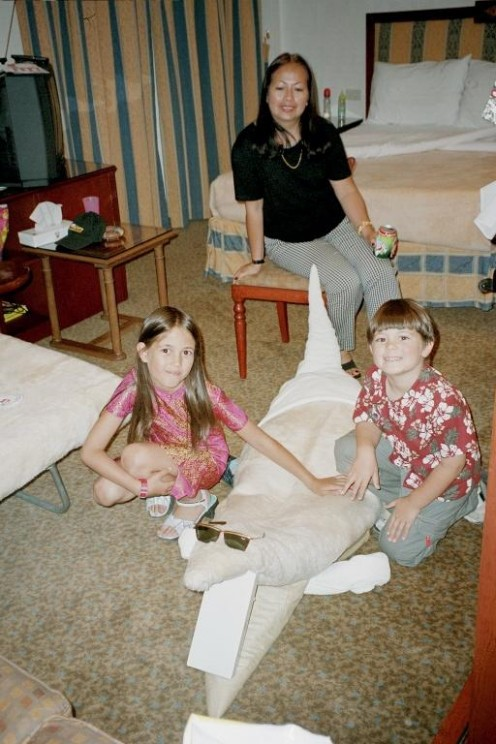 Egypt - Tour of The Ancient Wonders with Nile Cruise - Children Love The Creative Animation Surprise of the Roomkeeper.