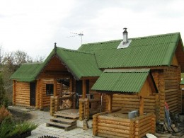 Dacha with well