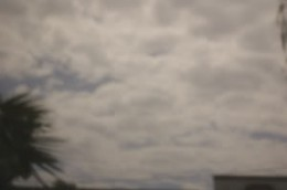 Photo of the sky with my pinhole lens