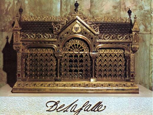 Relics of St. John Baptist de La Salle
