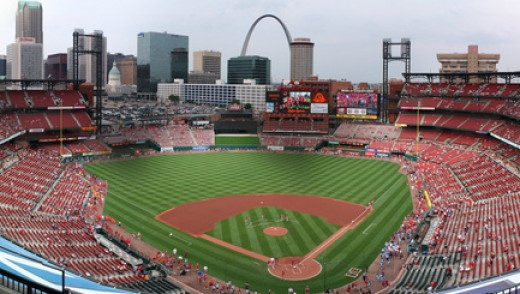 Busch Stadium Panorama