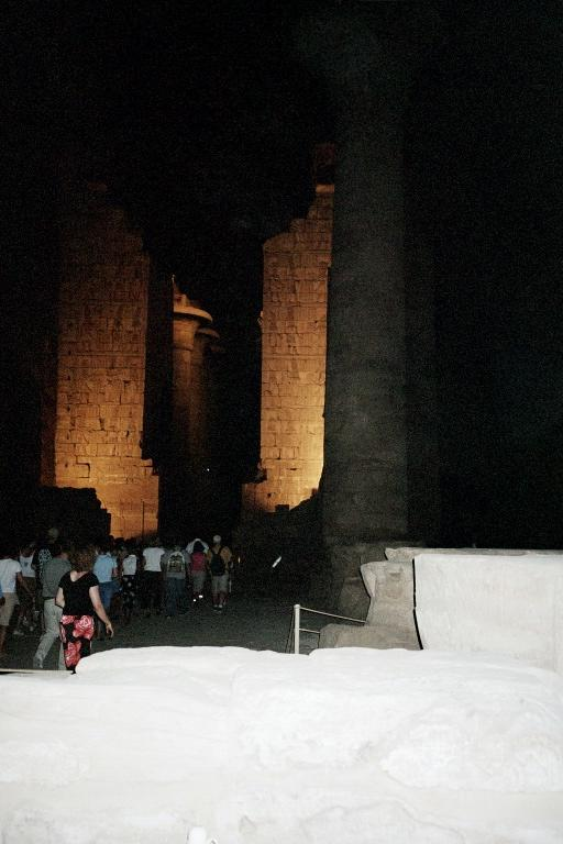 Sound and Light Show at Karnak Temple  -  Egypt Tour of The Ancient Wonders