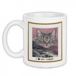 Sample cat mug
