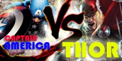 Captain America VS Thor