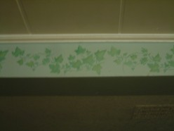 Kitchen Cabinet Stenciling
